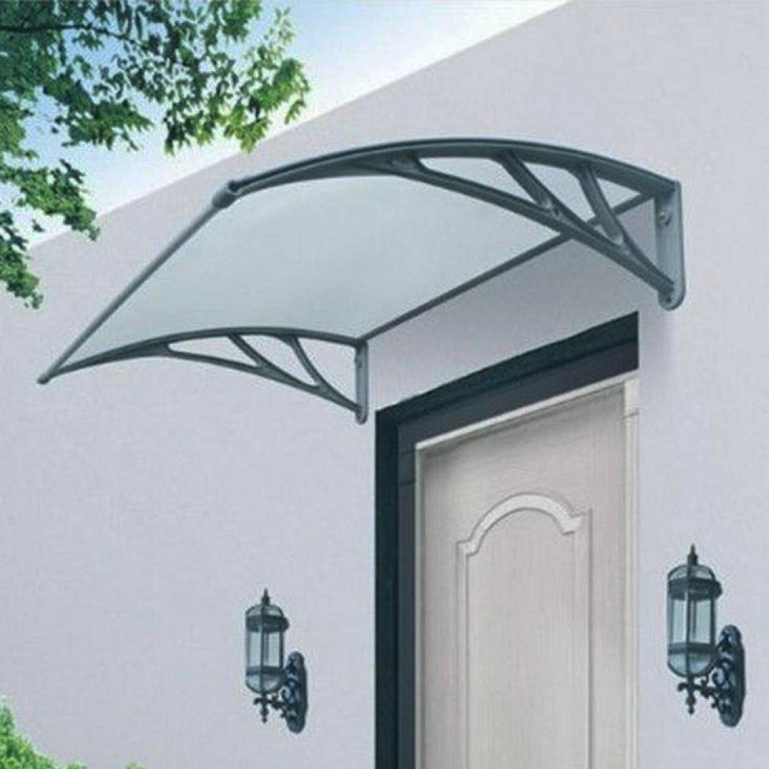Door Canopy Roof Shelter Awning Shade Rain Cover Porch