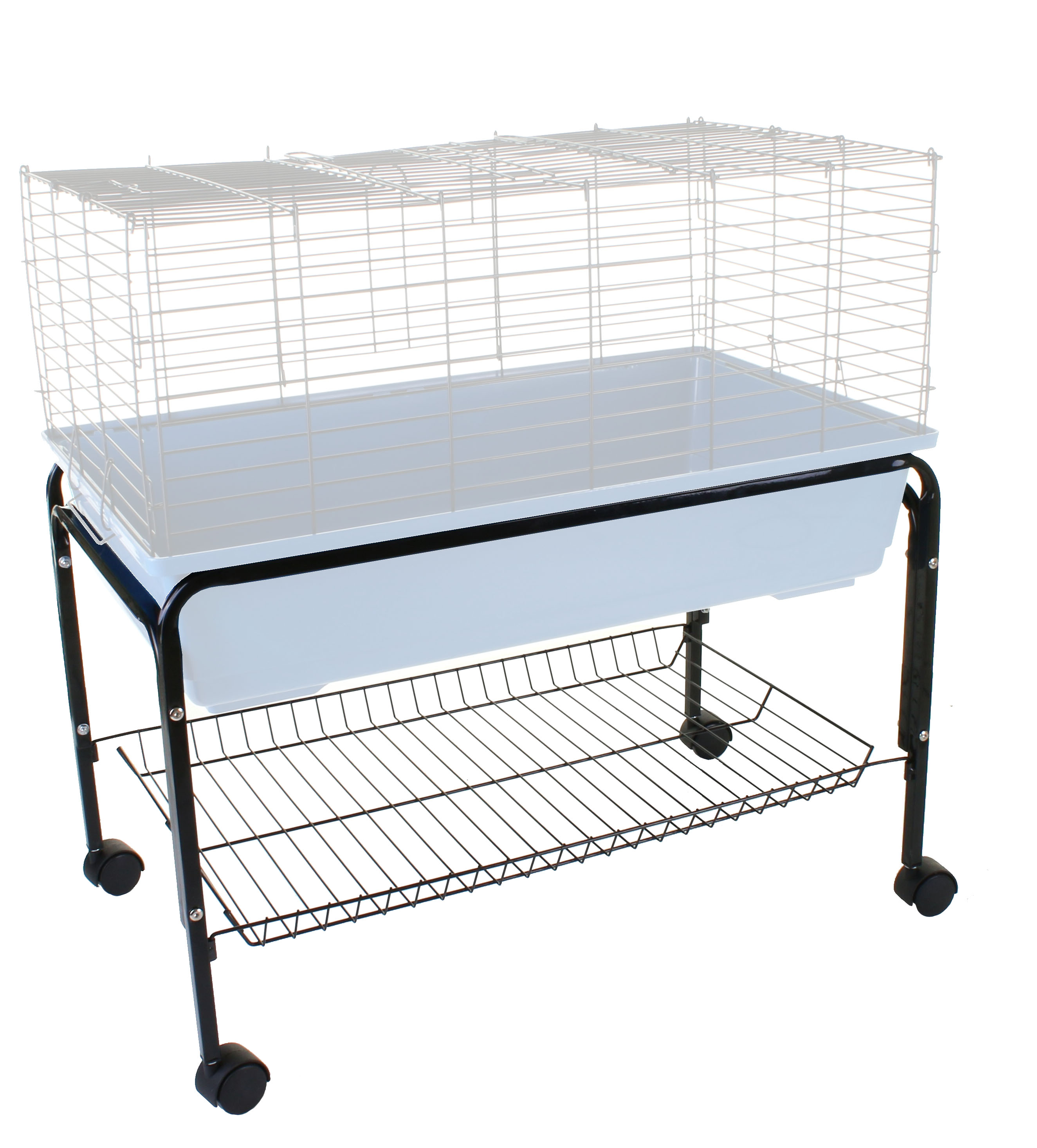 Indoor rabbit pet cage stand enclosure hutch guinea pig for Guinea pig stand