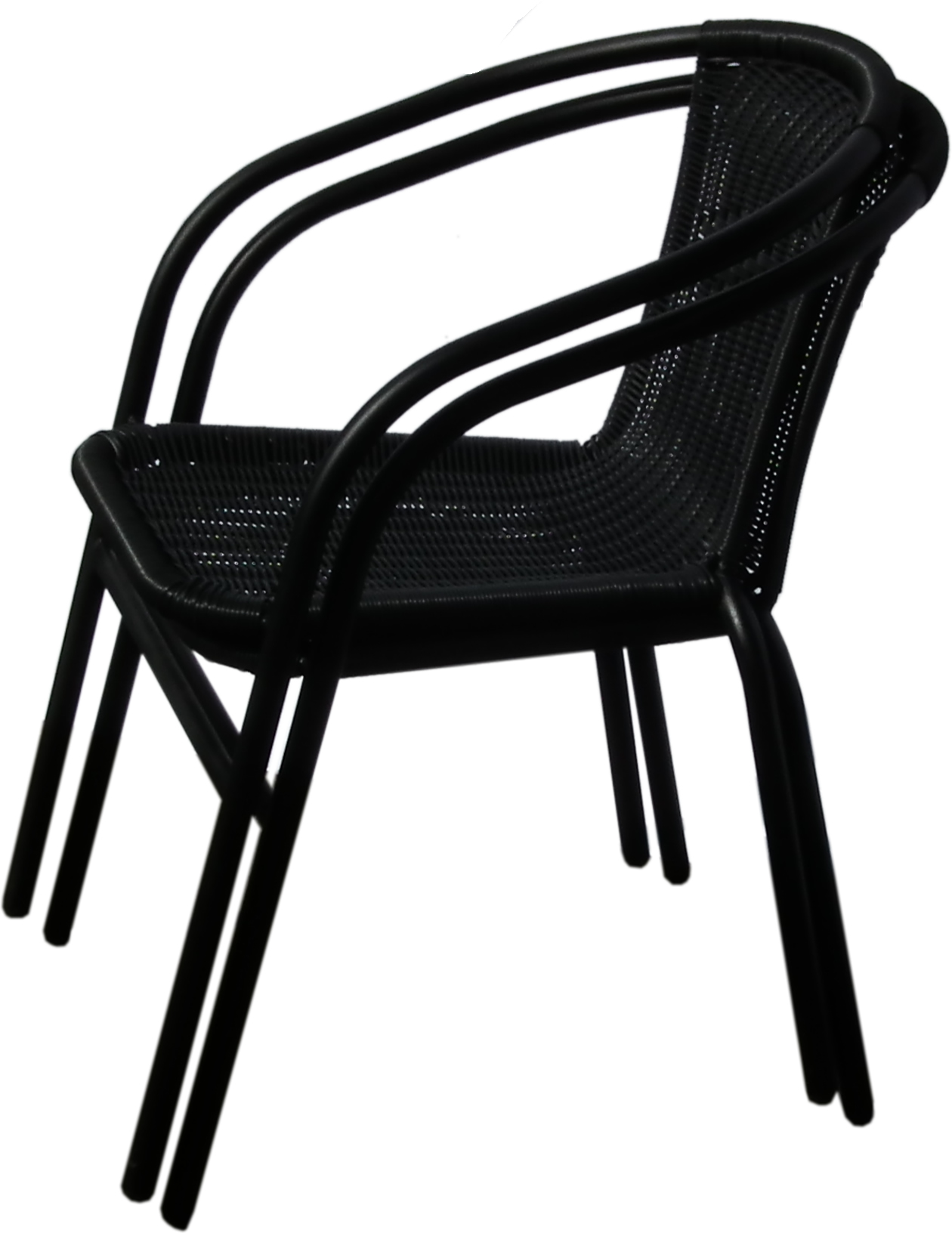 Black Metal Bistro Chairs