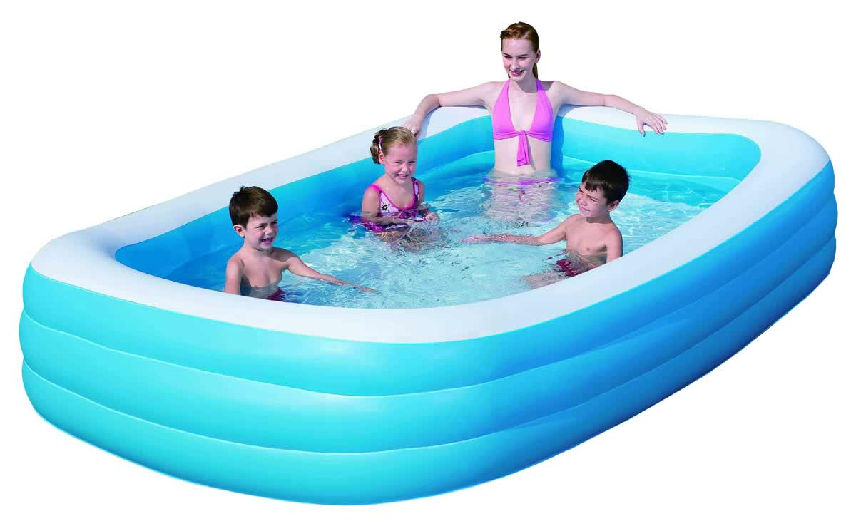 Outdoor inflatable swimming paddling pool garden family - Swimming pool accessories ...