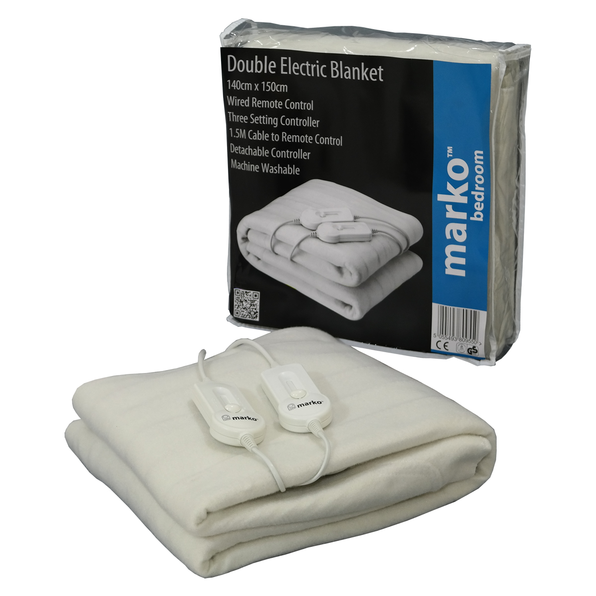 how to put an electric blanket on the bed