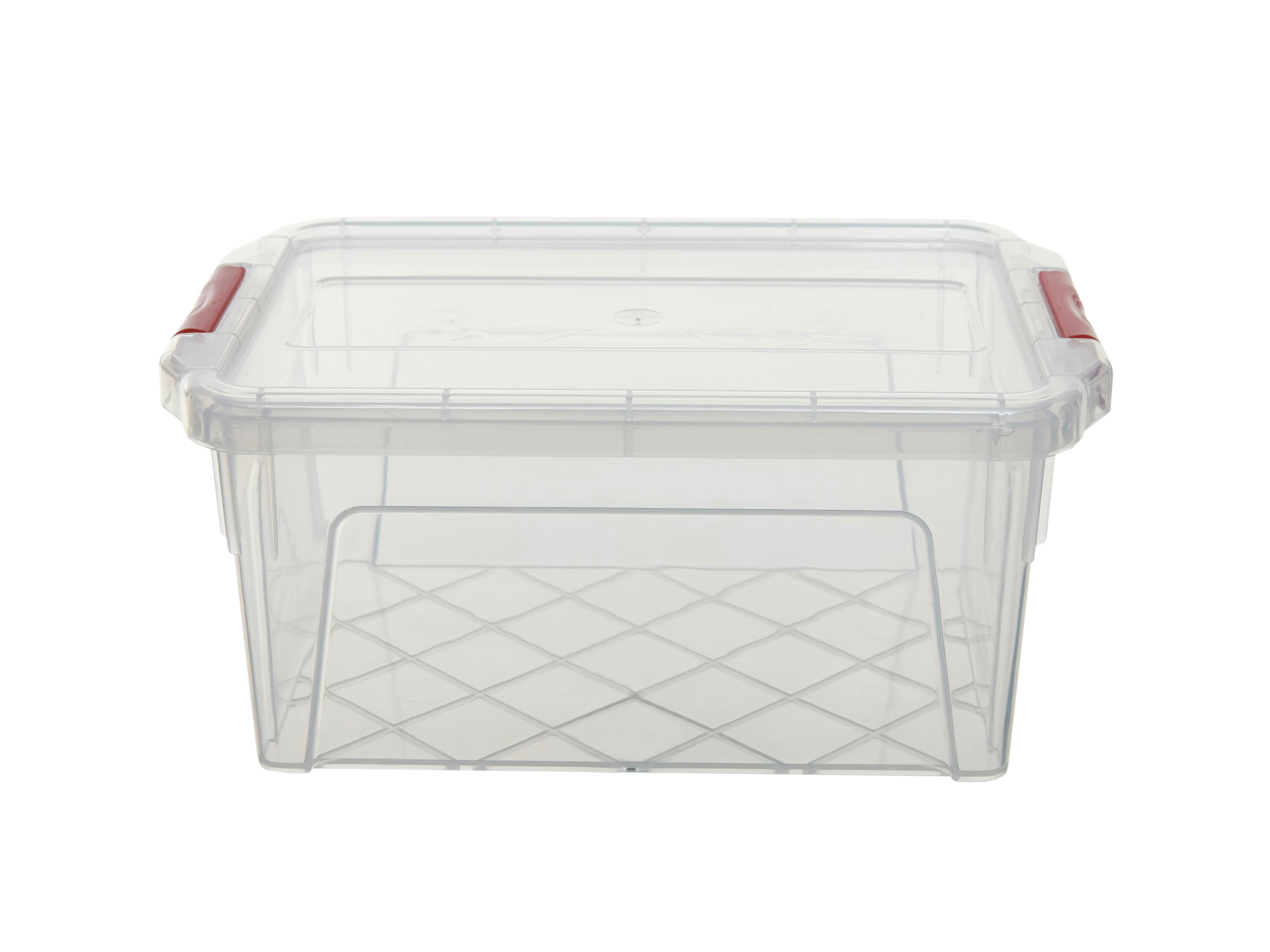 plastic storage boxes for kitchen clip top storage boxes 0 25l 2l plastic kitchen hobby 7505